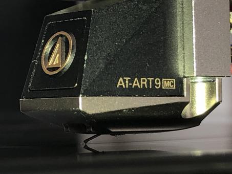Wiederhergestellter MC Tonabnehmer. Audio Technica AT-ART 9