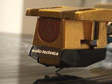 Wiederhergestellter Limitierter Audio Technica 20 SLa MM Tonabnehmer