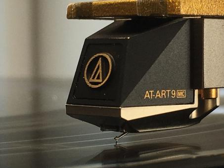 WiederhergestellterAudio Technica Tonabnehmer AT ART 9 mit Nude Shibata Diamanten