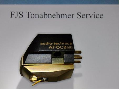 Wiederhergestelltes Audio Technica AT OC 9 mit nude Shibata Diamant