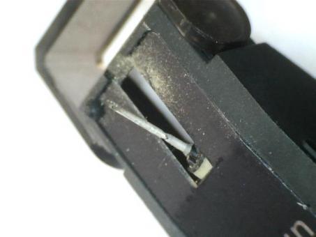 Wiederherstellung von Braun MC 2 E Tonabnehmer mit elliptischer Diamantnadel