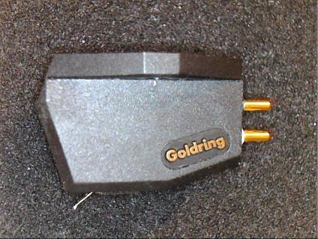 Goldring Tonabnehmer. Wiederhergestellter MC Low Output Tonabnehmer mit Boron Cantilever und nude Shibata Diamanten