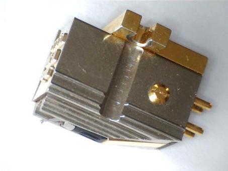 Wiederhergestellter Ortofon MC 30 Super Tonabnehmer. Low Output mit nude Shibata Diamant.