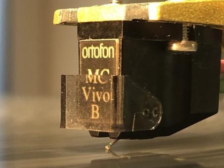 Wiederhergestellter Ortofon MC Vivo B