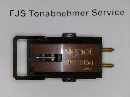 Signet MK 110 E  (MC) Tonabnehmer mit nude elliptischer Diamantnadel
