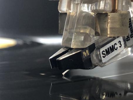 Wiederhergestellter Soundsmith SMMC3 mit Nude Line Contact Diamant