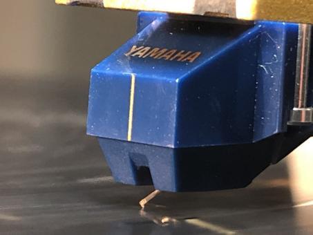 Wiederhergestellter Yamaha MC 5 mit nude Line contact Diamant