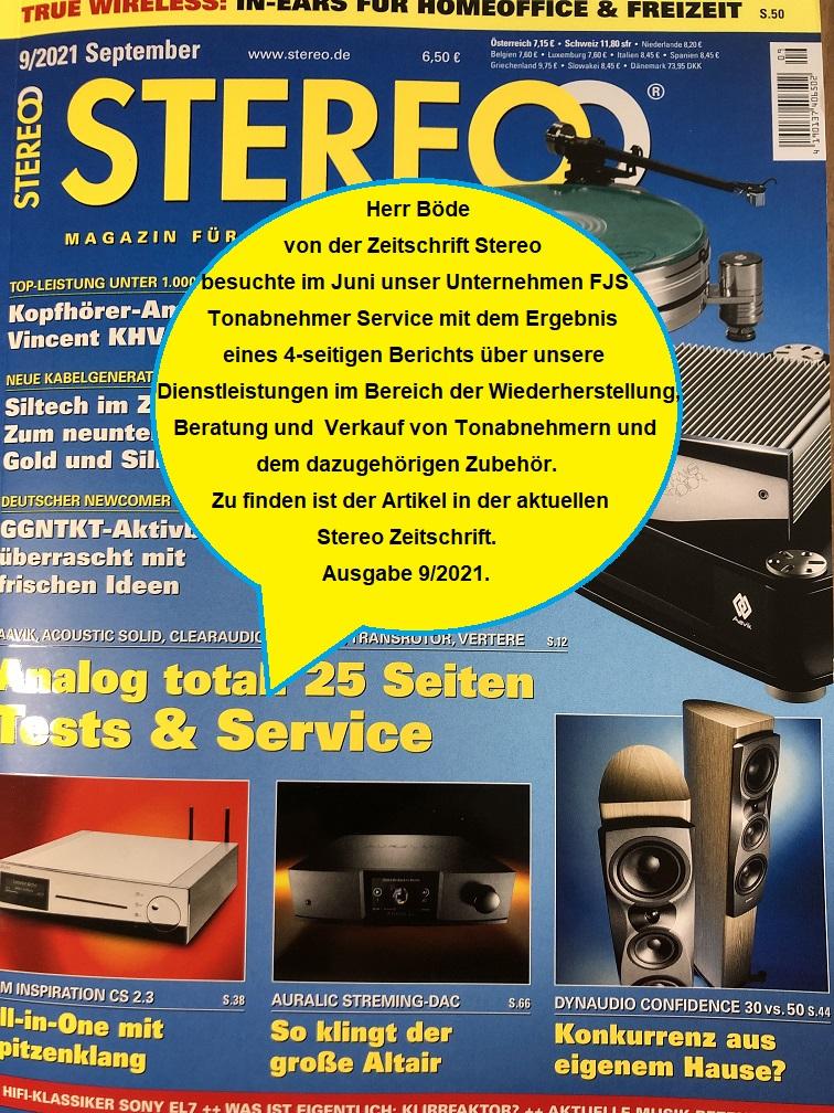 Stereo Zeitschrift